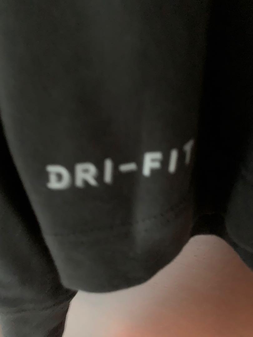 Authentic Air Jordan Long Sleeve Shirt (drifit)