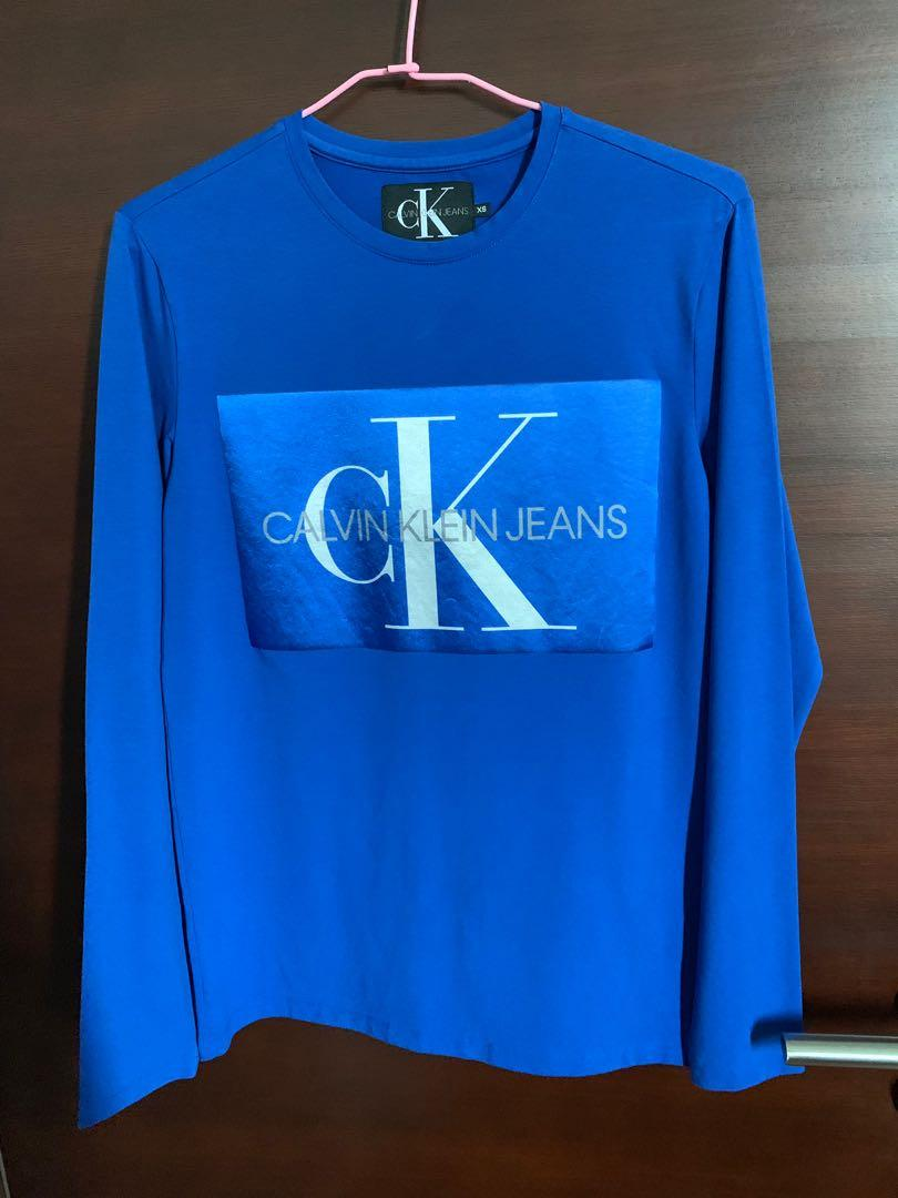 Authentic Calvin Klein Long Sleeve Shirt (bought from store)