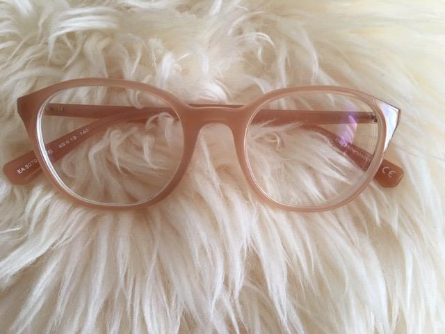 Authentic Emporio Armani Glasses Frame  Colour: Honey  Condition: Like New
