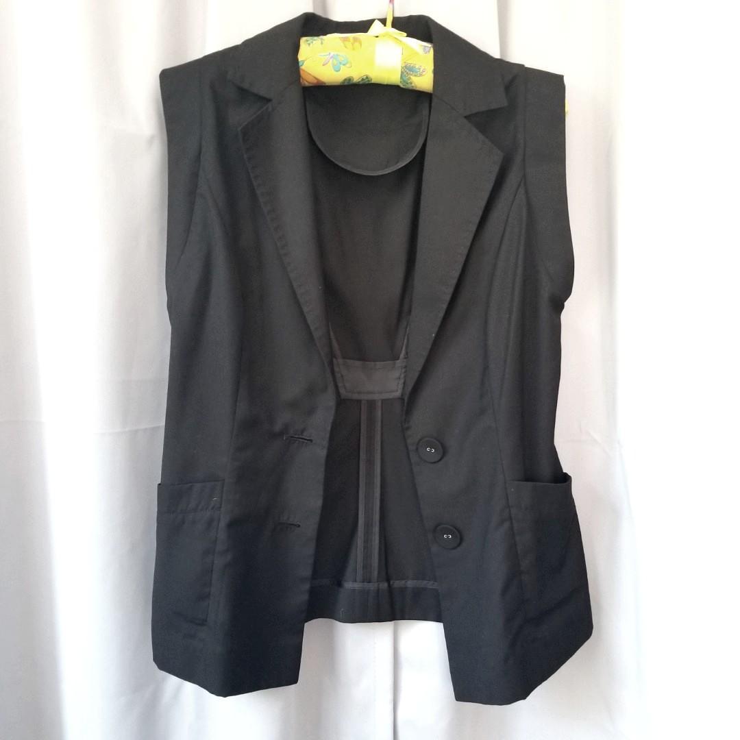 Blazer Vest Jacket 背心西裝薄外套
