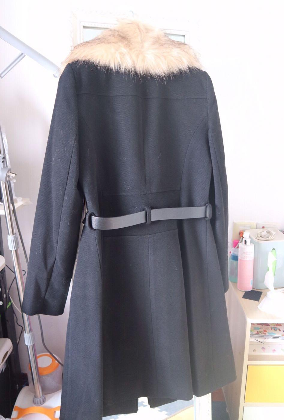 BNWT Miss Selfridge faux fur coat