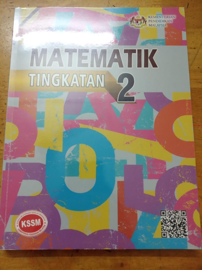 Buku Teks Tingkatan 2 Matematik Kssm Textbooks On Carousell
