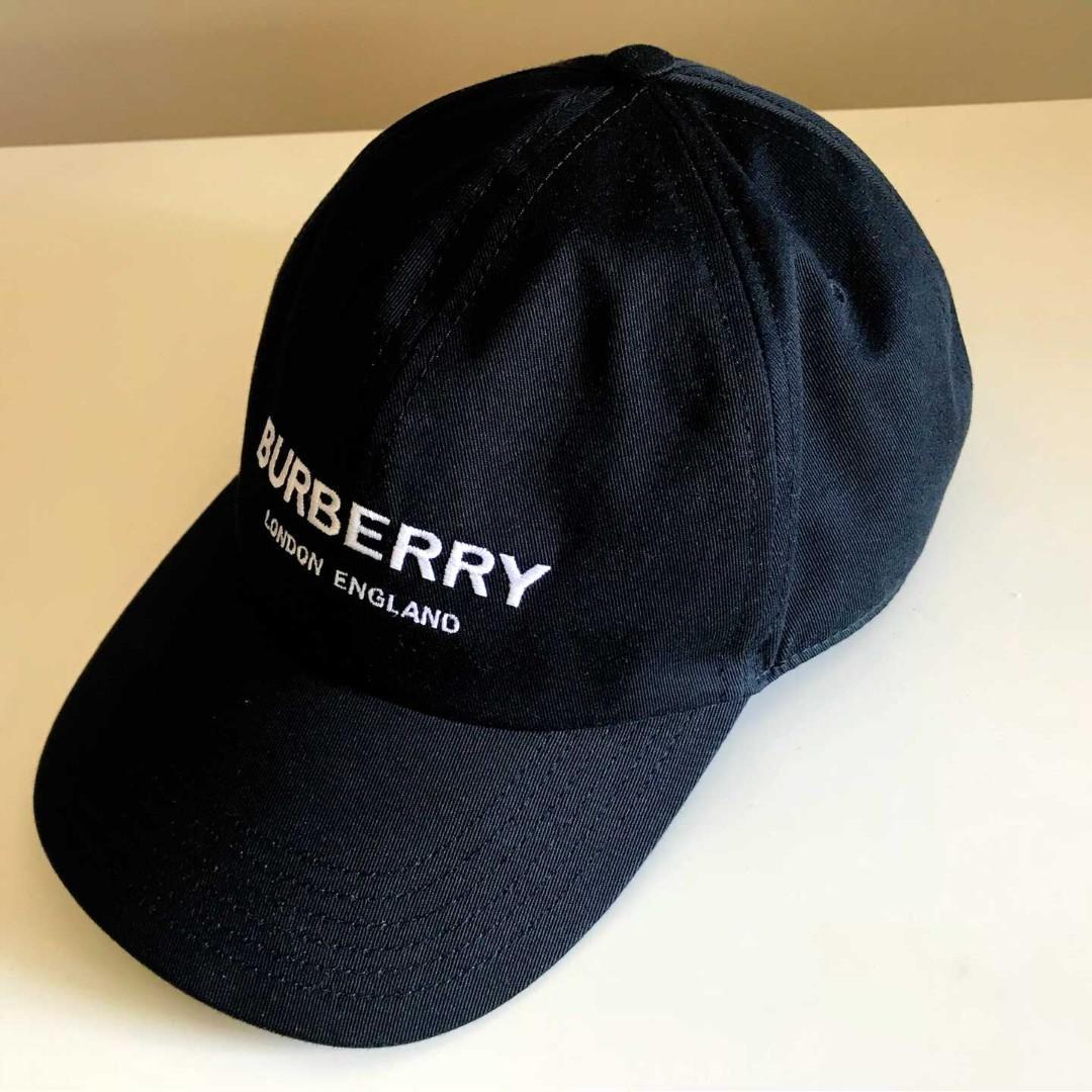 Burberry  黑色鴨舌帽
