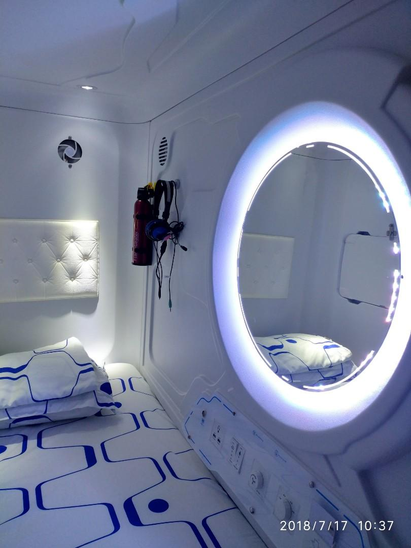 Capsule apartment for lease