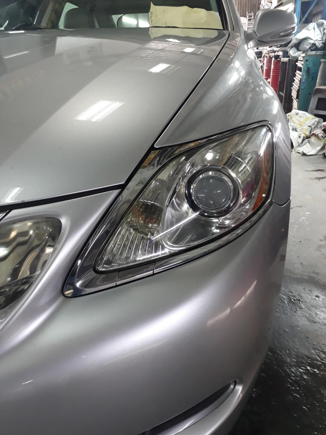 CAR HEADLAMP RESTORATION