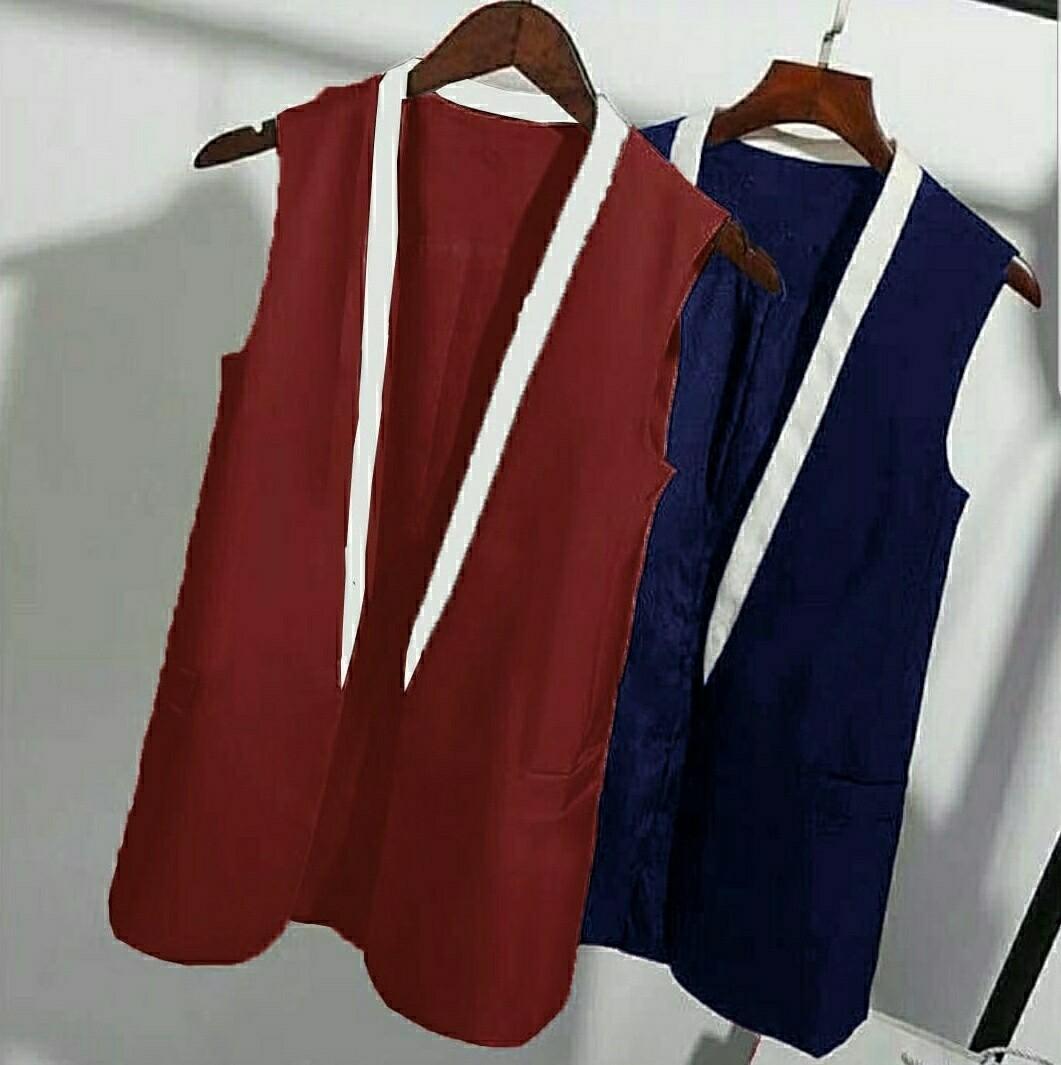 Ec Cardy Blazer l atasan fashion baju cardigan wanita