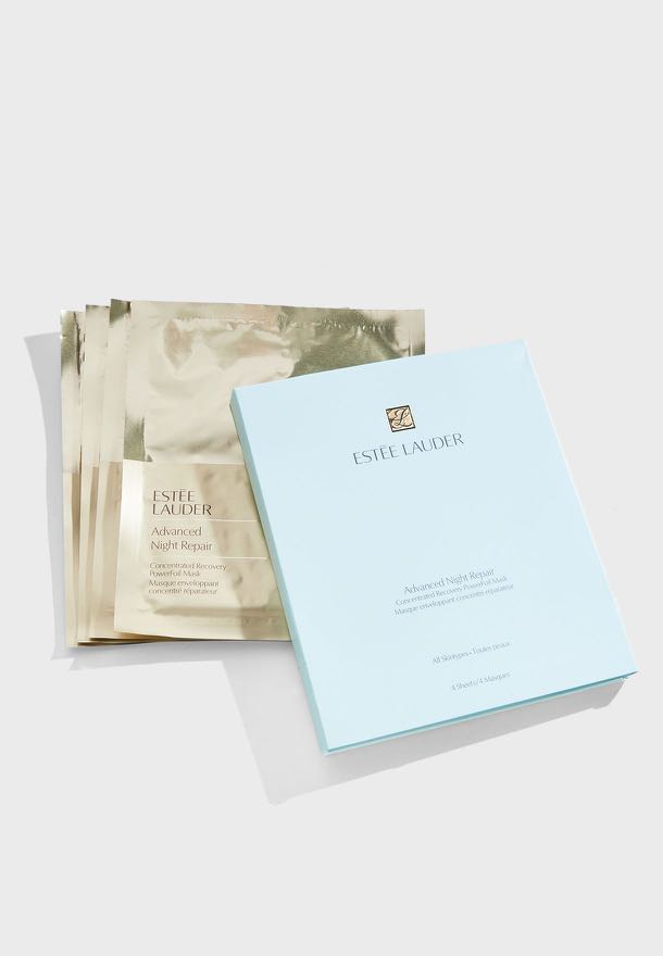 Estee Lauder Advanced Night Repair Concentrated Recovery Power Foil Mask 4 Pack Masks