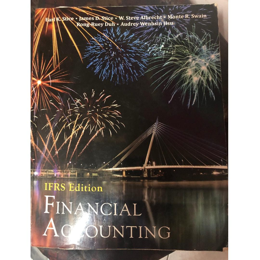 Financial Accounting會計書
