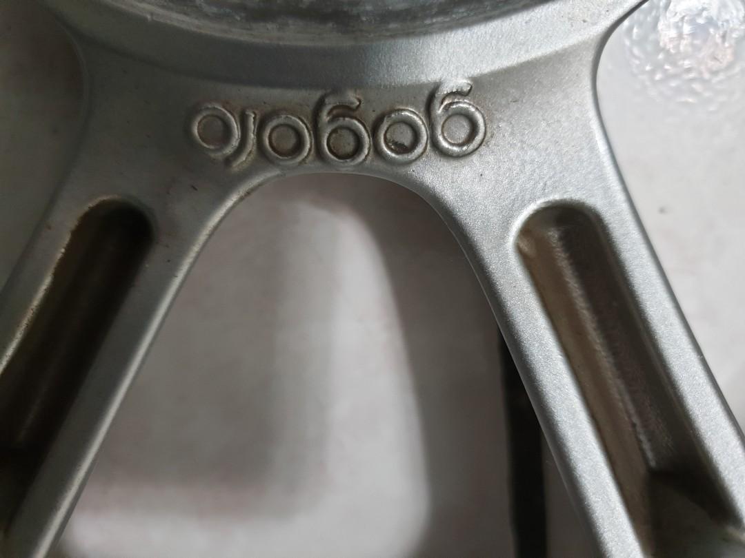gogoro 原廠輪框