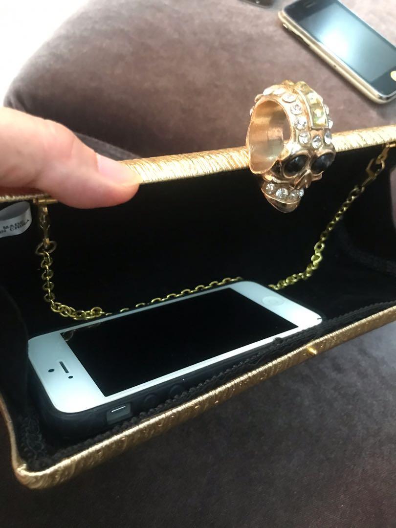 Golden clutch