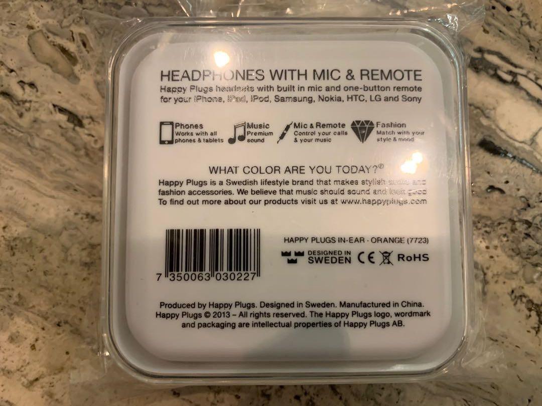 Happy plug earphones