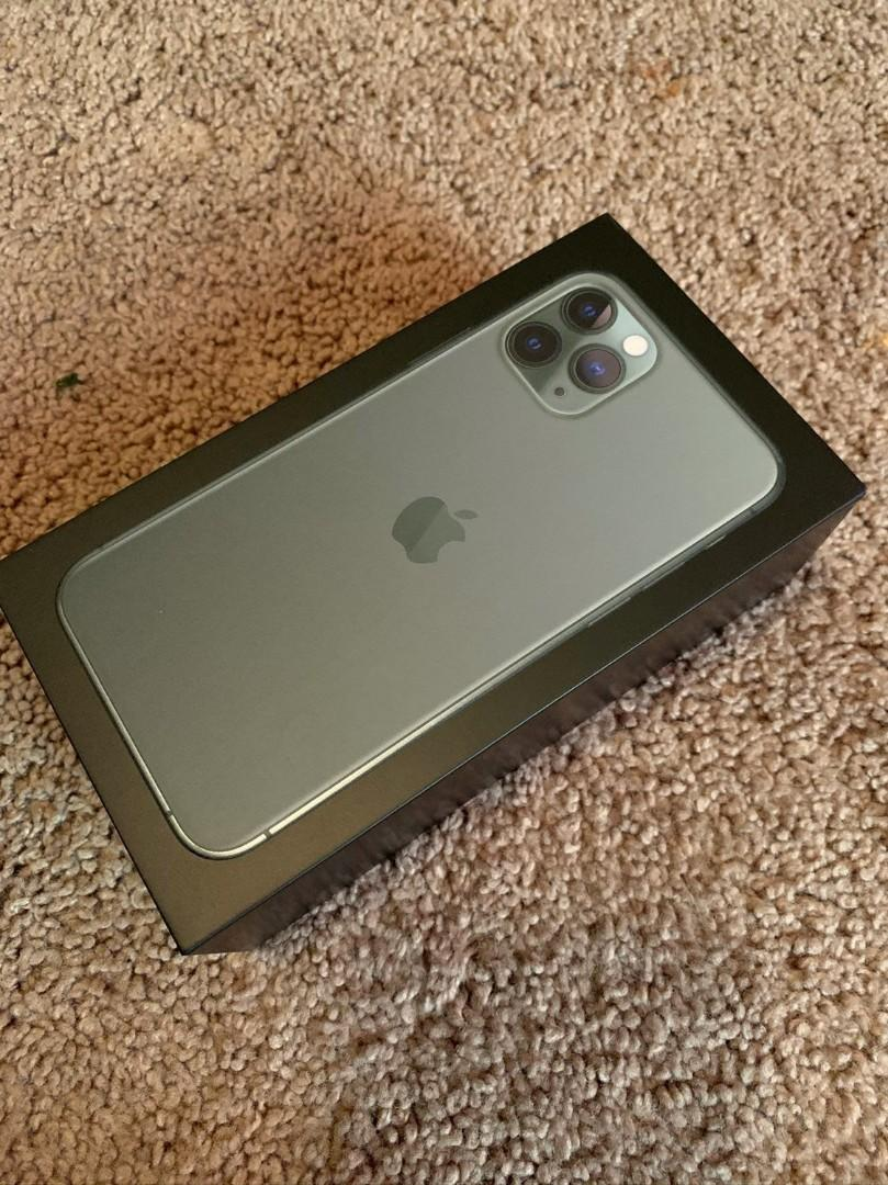 Iphone 11 Pro Max Pro 256 GB New With All Accericess