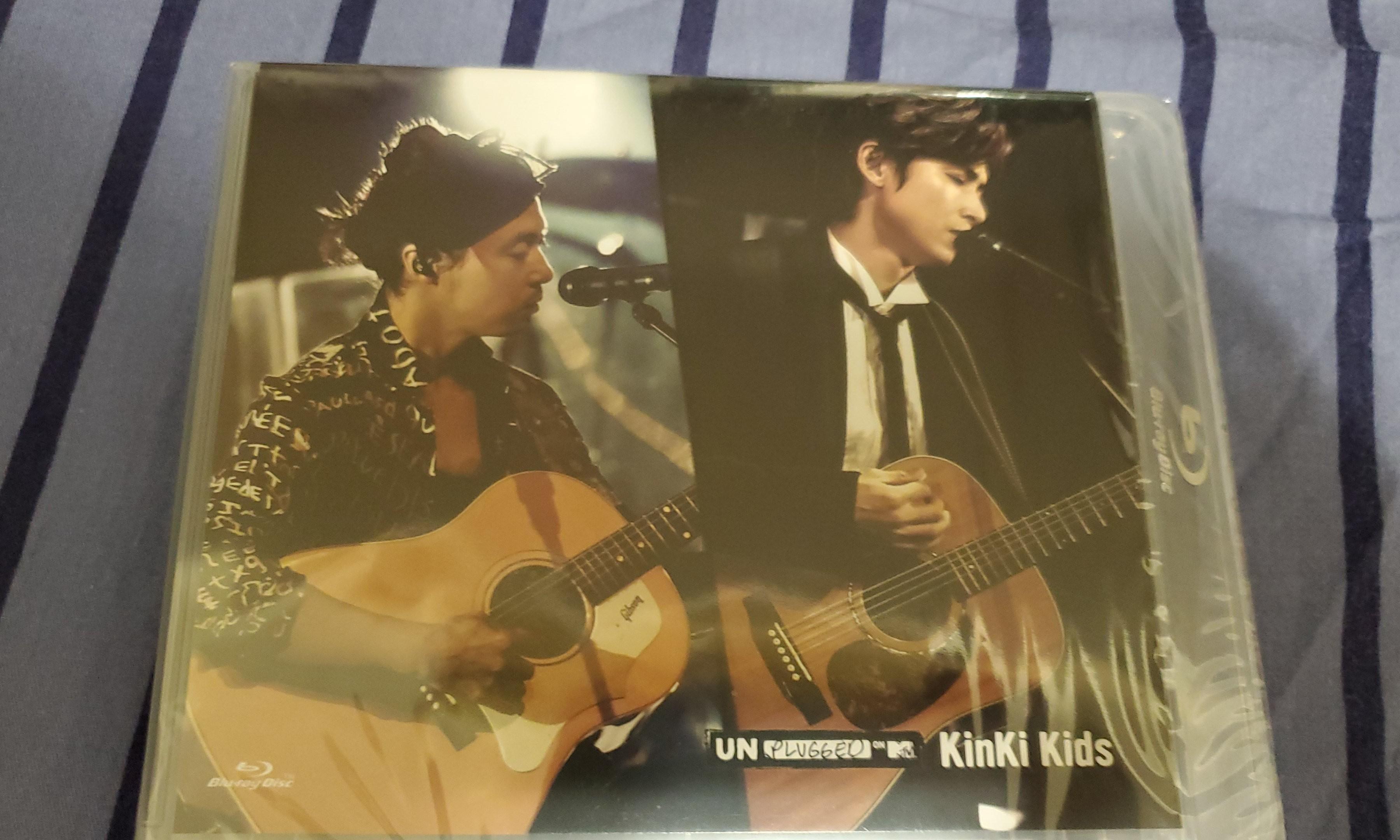 KinKi Kids Unplugged on MTV bluray 日版