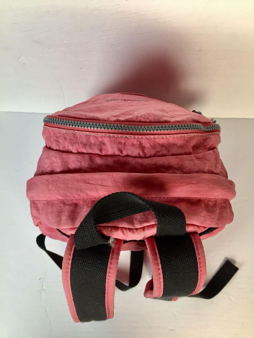 Kipling Salmon (Pinkish-Orange)Colour Small Backpack