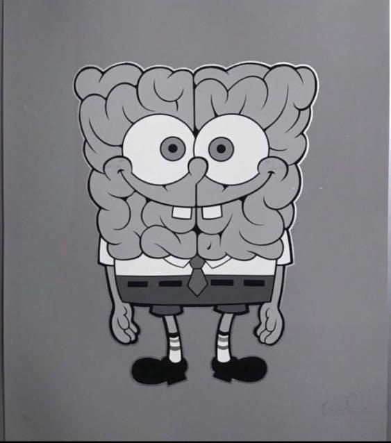 "Last one ""Sponge Brain"" Mono by Emilio Gracia *Limited Edition JPS"