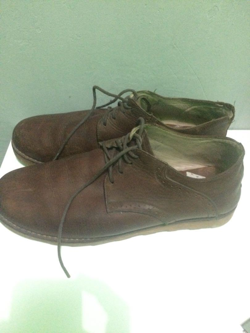 Sepatu kulit Leather boots by unkl 347