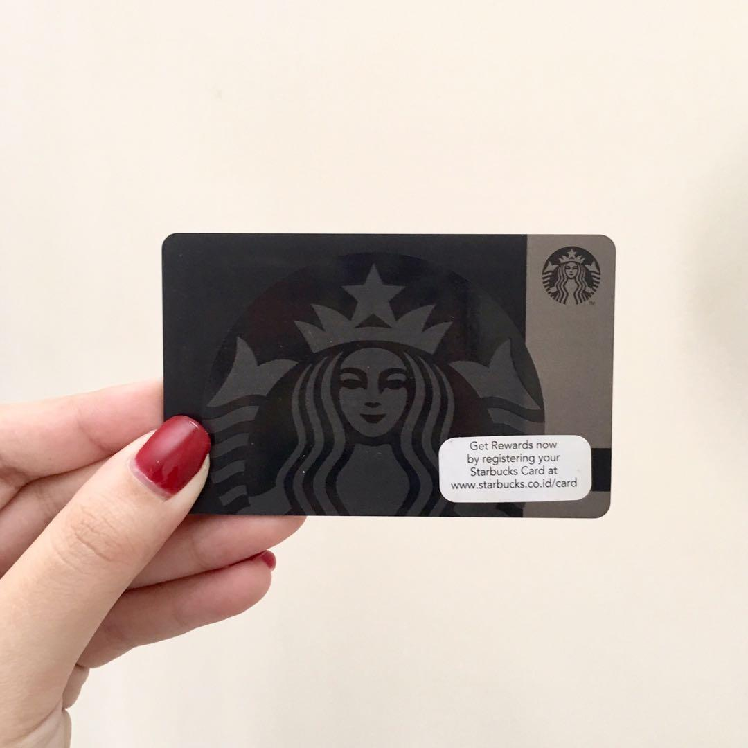 LIMITED EDITION STARBUCKS CARD BLACK SIREN