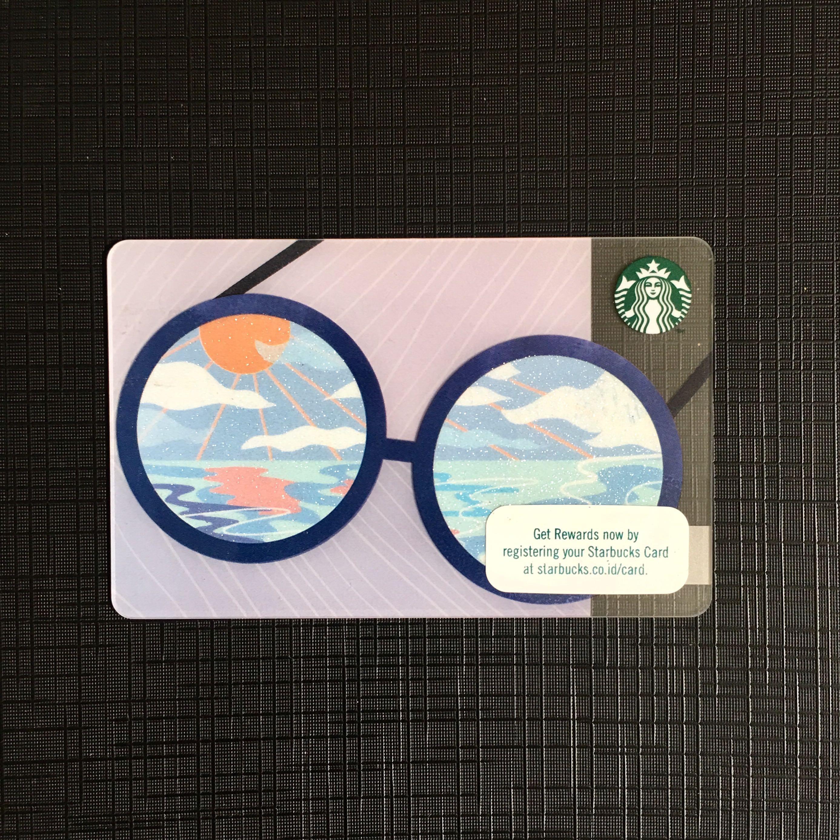 LIMITED EDITION STARBUCKS CARD SUMMER
