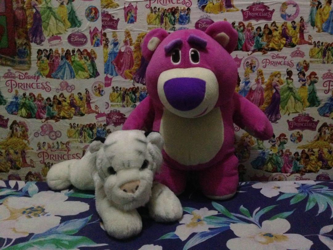 Lotso and White Tiger Preloved