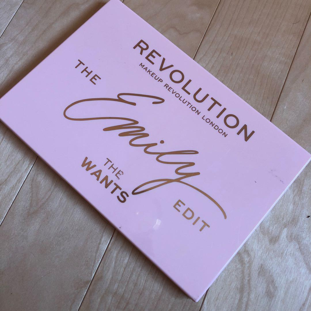 Makeup Revolution The Emily Edit The Wants Palette