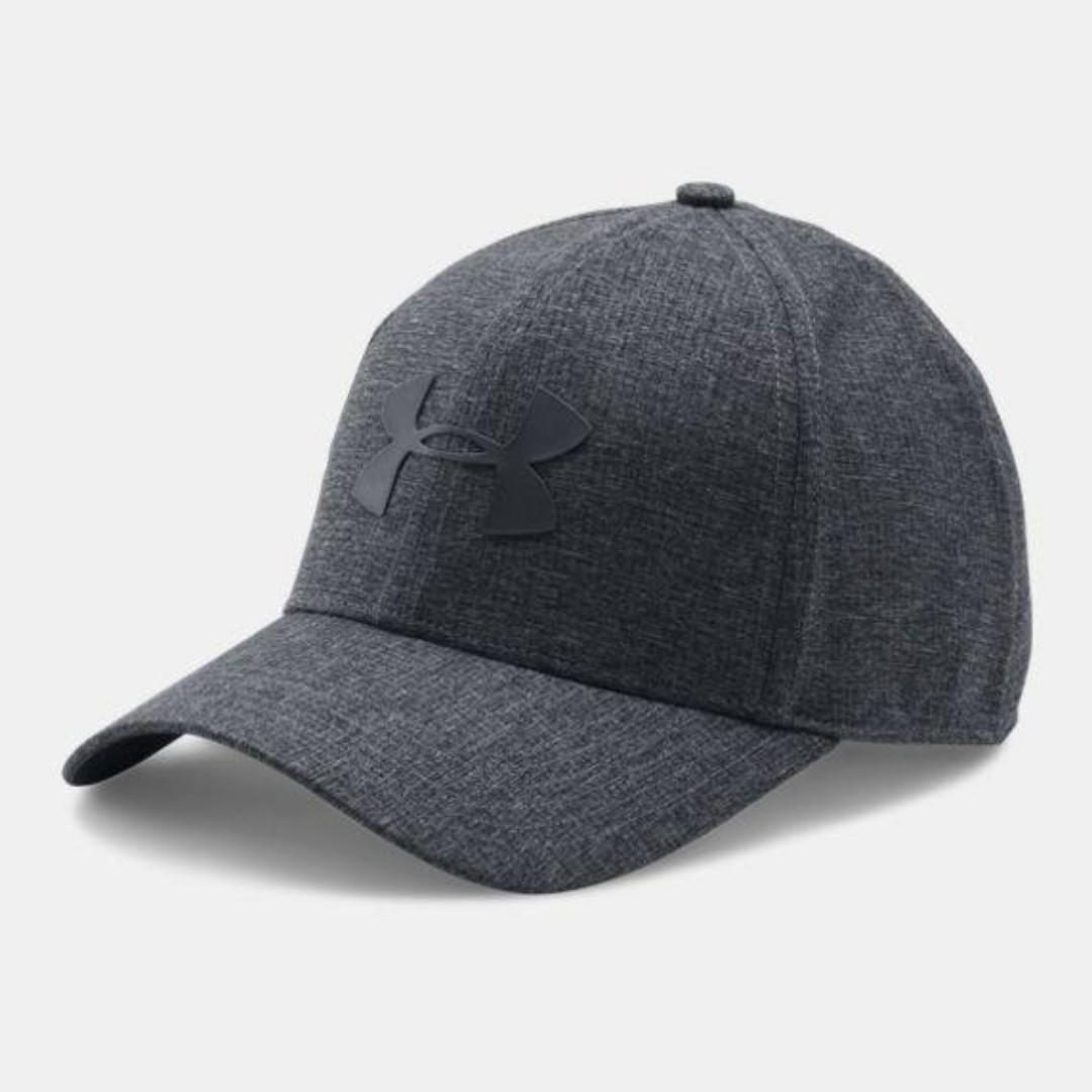 """Men's UA CoolSwitch ArmourVent™ 2.0 Cap"" Under Armour UA 全新 黑色 棒球帽 鴨舌帽 老帽 運動帽 球帽 帽子 1291856"