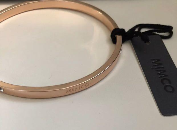 Mimco Rose Gold Bangle pre-owned