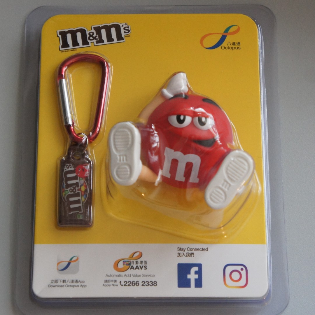 M&M's 八達通 呀紅