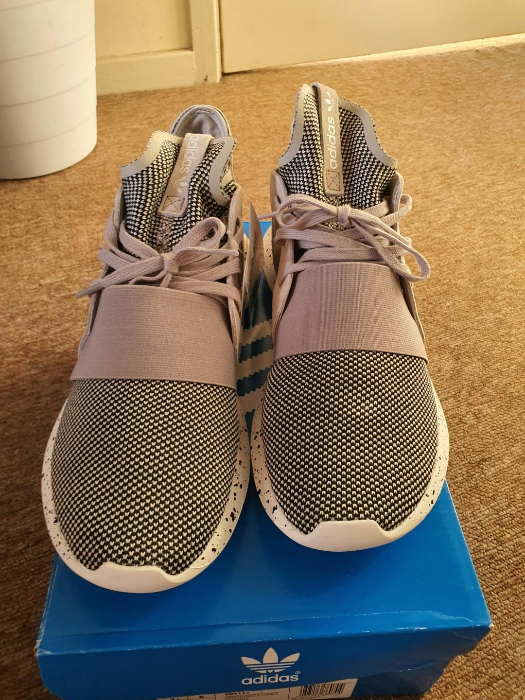 New! adidas tubular defiant in Geanite/white size US 7.5