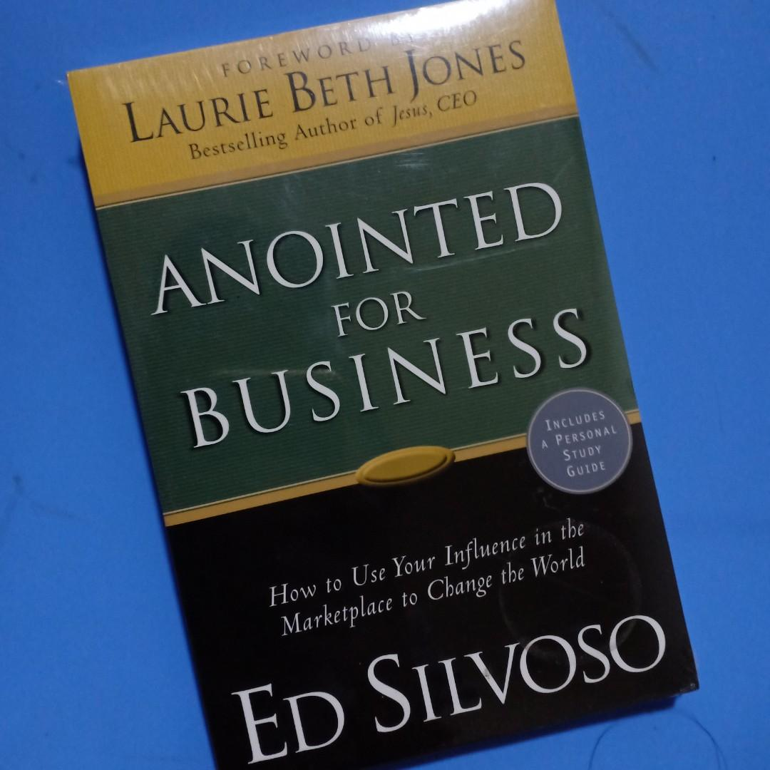 [New] Anointed For Business by Laurie Beth Jones