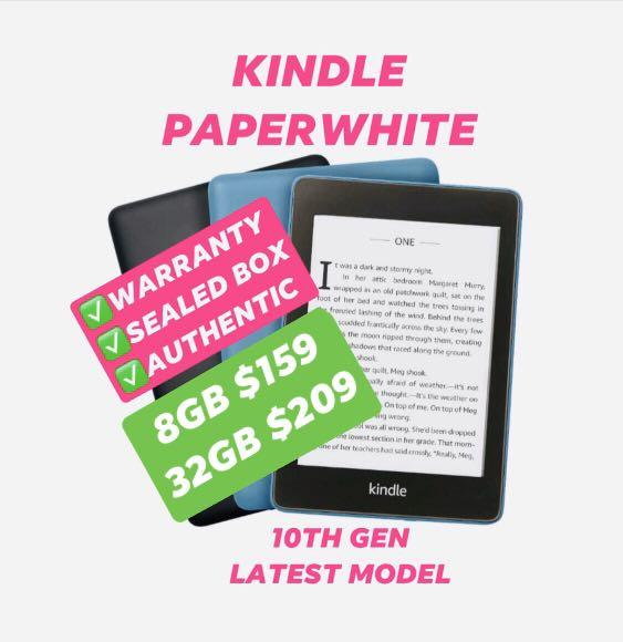 NEW Kindle Paperwhite 4 10th Generation