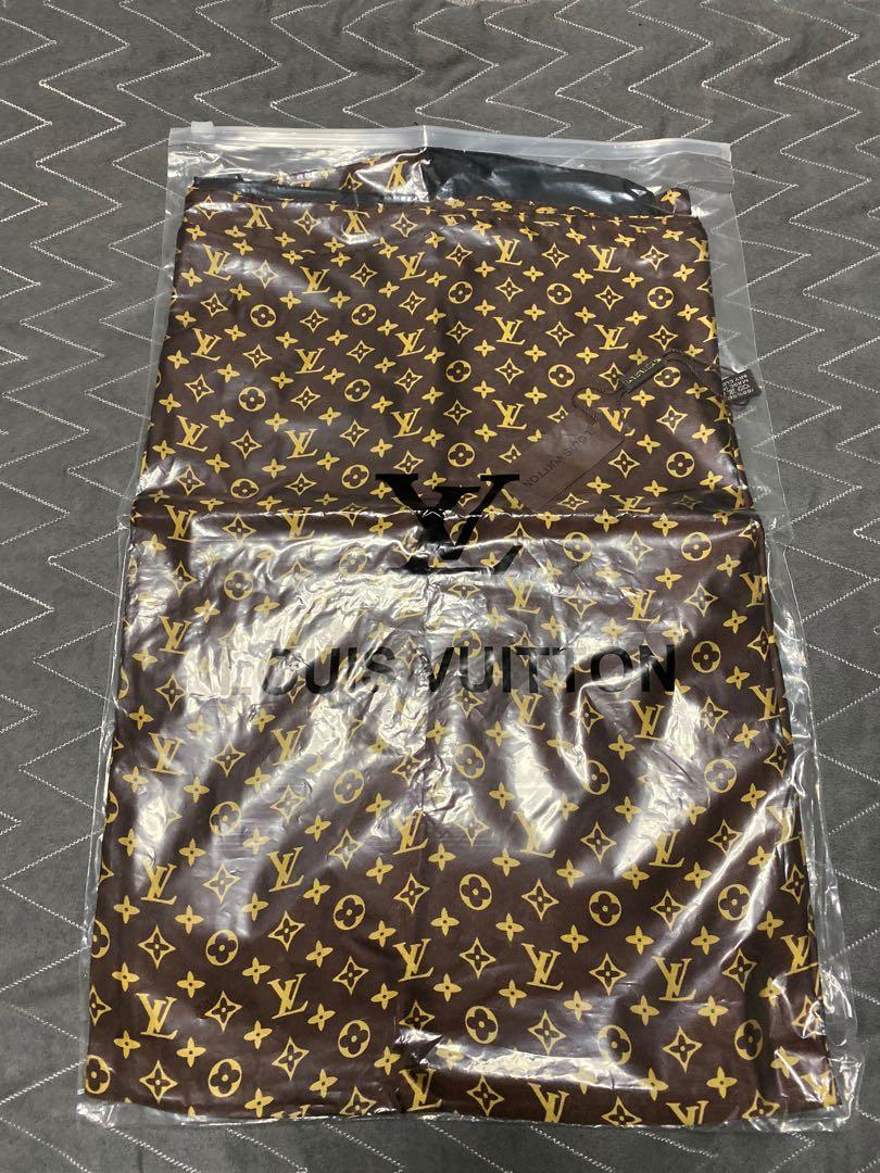 New large square silk scarf / shawl - Louis Vuitton monogram style
