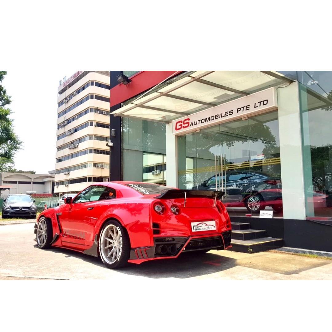 Nissan GT-R 3.8 Auto