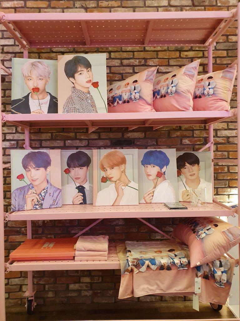 No EMS BTS Pop Up Store: House of BTS - Painting Kit (Limited Slot)