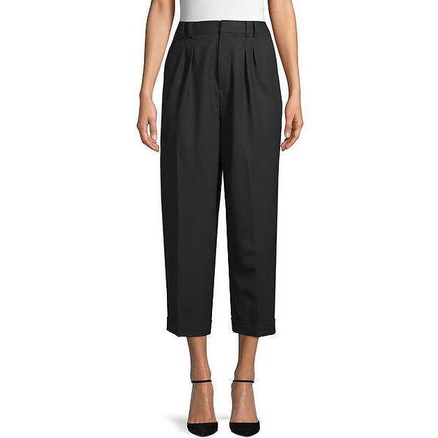 "*NWT* Club Monaco Wool-blend Pants in Black (Waist 26"")"