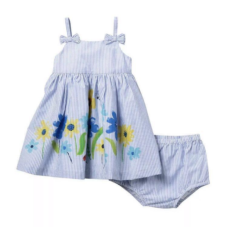 *NWT* Little Me Floral Sundress and Bloomers Set Size 24M