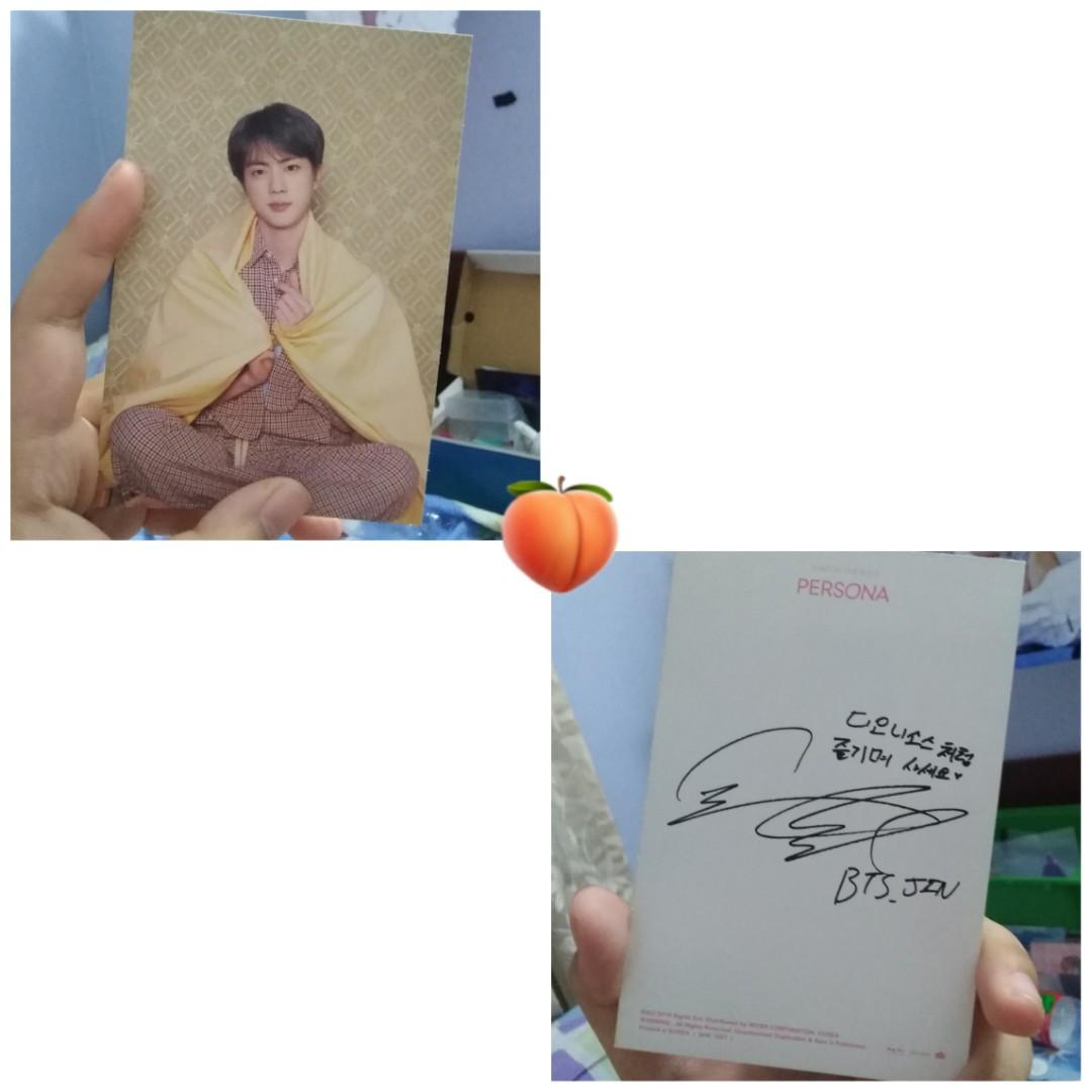 [WTS] Official BTS Personal Jin Pc