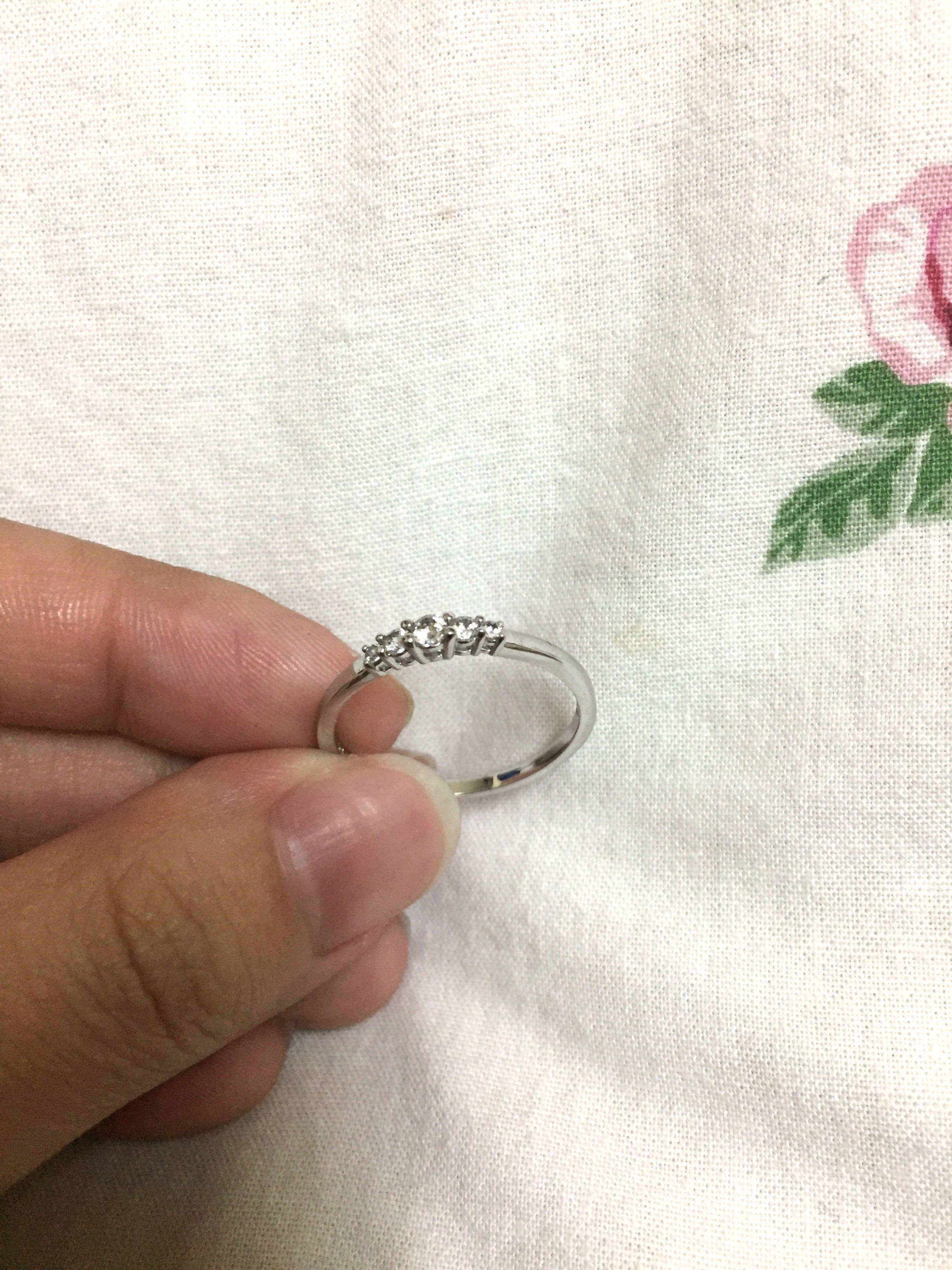 100% AUTHENTIC Swarovski Frisson Ring [SIZE: 58(EU)]