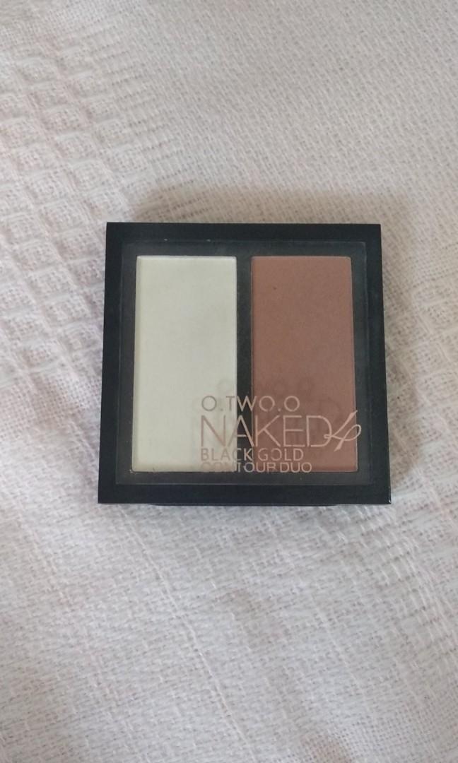 o.two.o naked 4 black gold contour duo