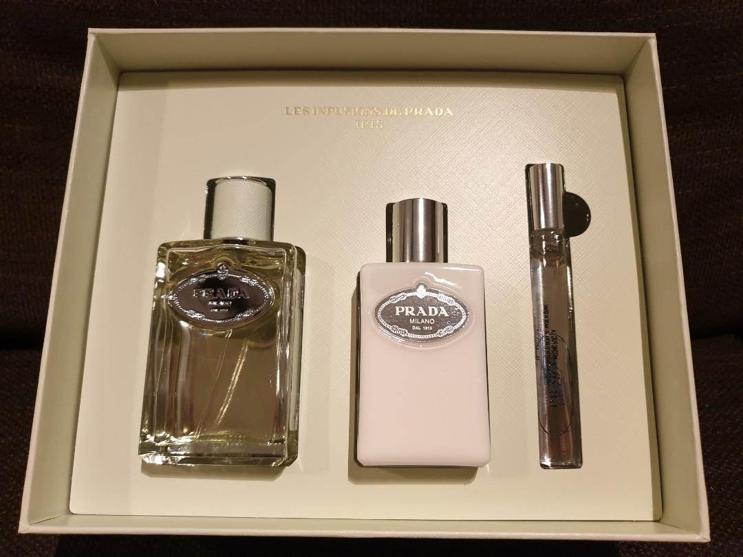 Prada Iris Perfume Gift Set Health Beauty Perfumes Deodorants On Carousell