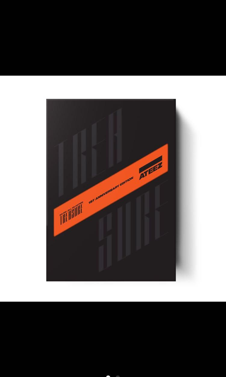 PRE ORDER ATEEZ [TREASURE EP. FIN: All to Action] first anniversary EDITION  VER