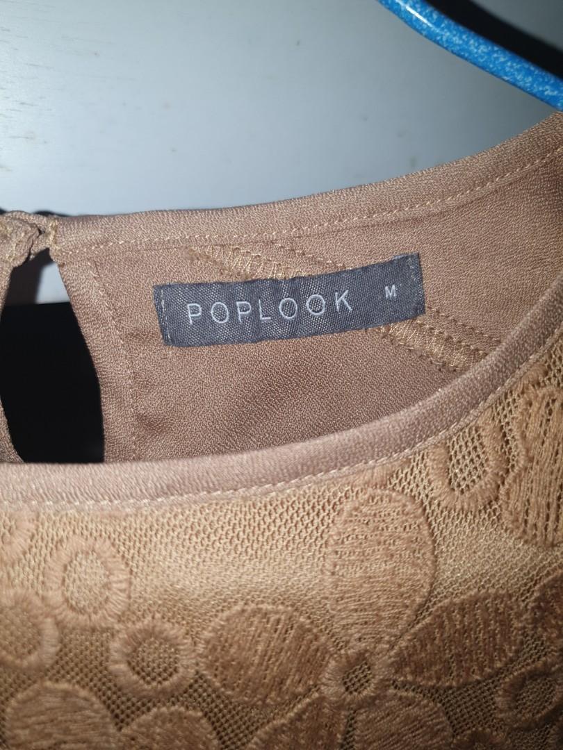 Pre❤ POPLOOK Blouse size M