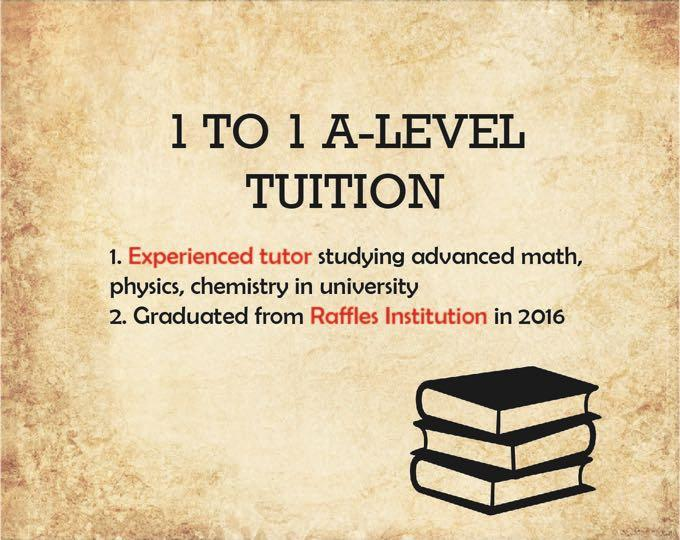 Private Tuition for Math, Chemistry and Physics