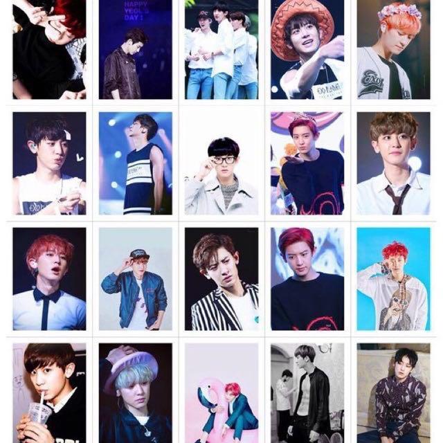🔥READY STOCK 🔥 EXO Park chanyeol 100pcs of Individual Lomo card
