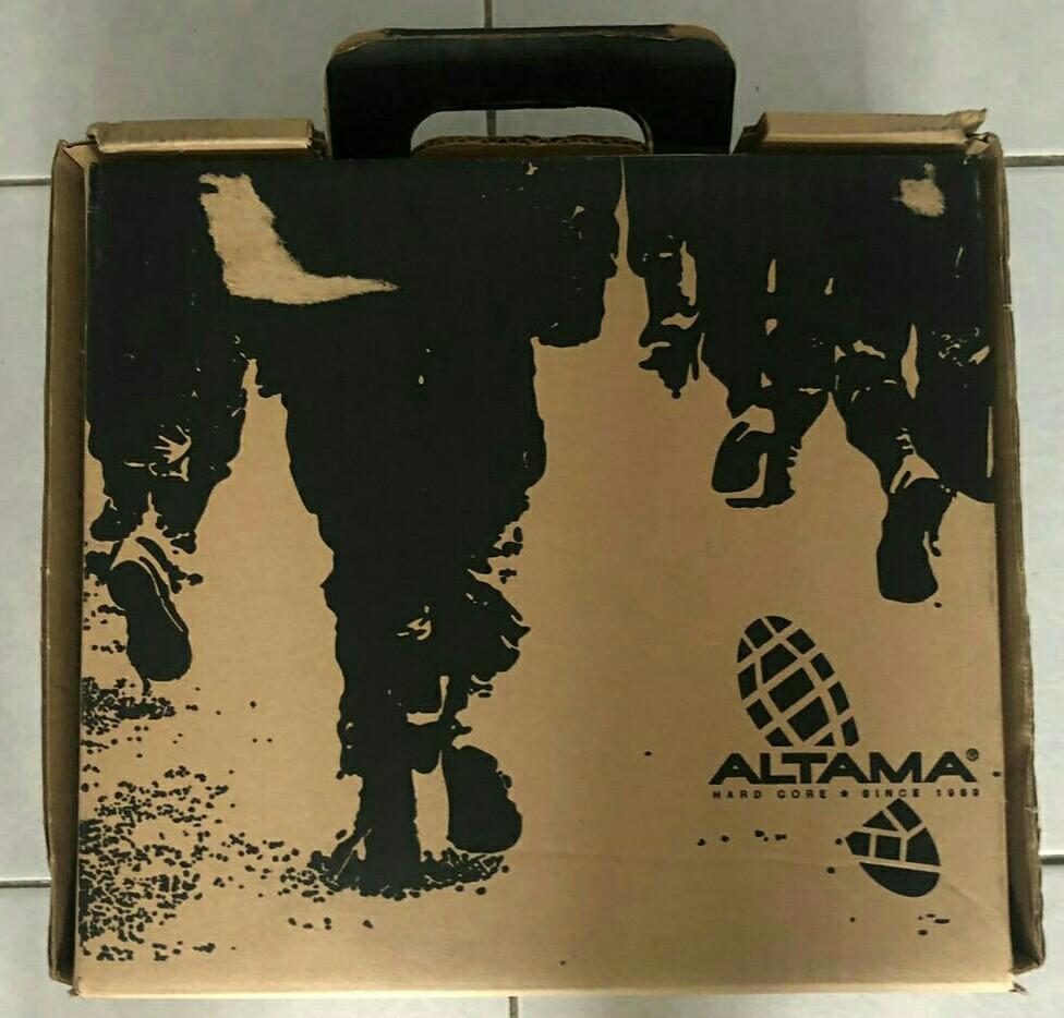 SAF Altama Combat Boots US 8