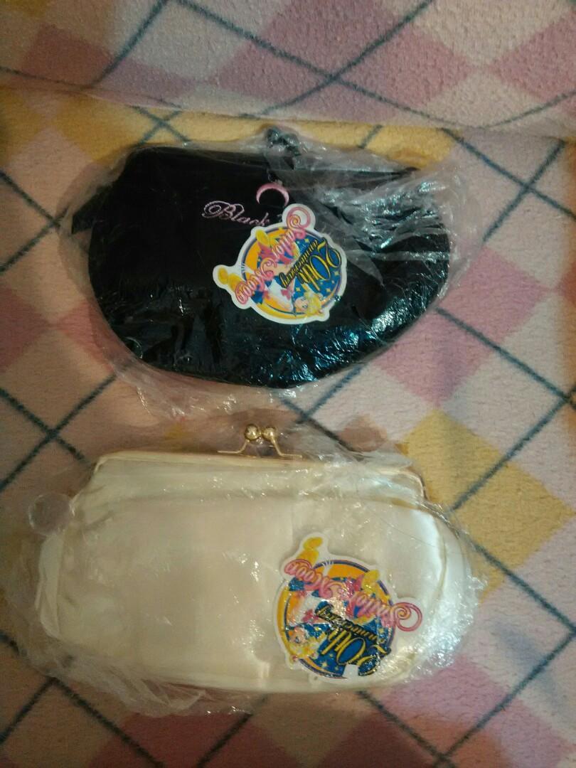 (請看清價錢) Sailor moon 美少女戰士黑色晚裝銀包 clutch