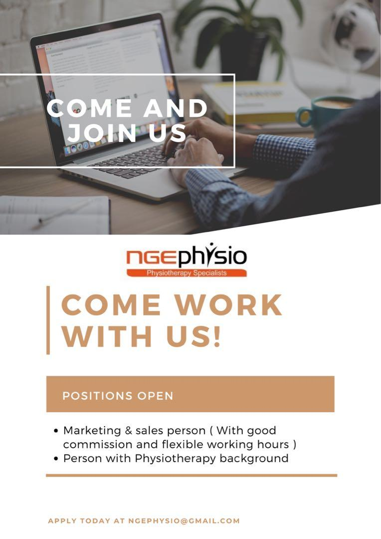 Sales & Marketing person