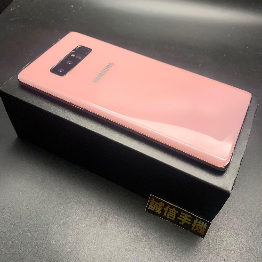 SAMSUNG Galaxy Note 8 粉紅色 6g/64g 盒裝配件齊全 功能全部正常