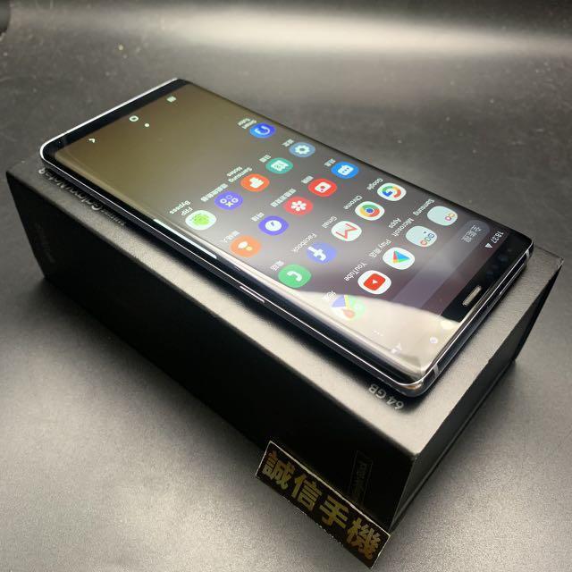 SAMSUNG Galaxy Note 8 薰灰紫 6g/64g 盒裝配件齊全 功能全部正常