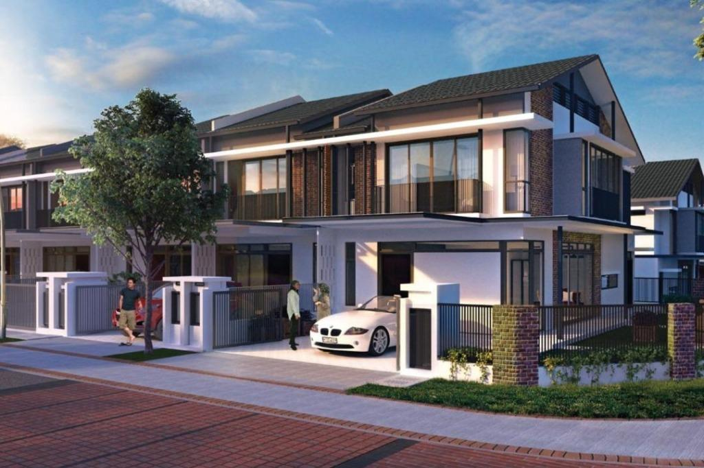 [Super Hot project] FULL LOAN Freehold Double Storey, 0% D/P, Rebate 30%, G&G Fully Extend Car porch