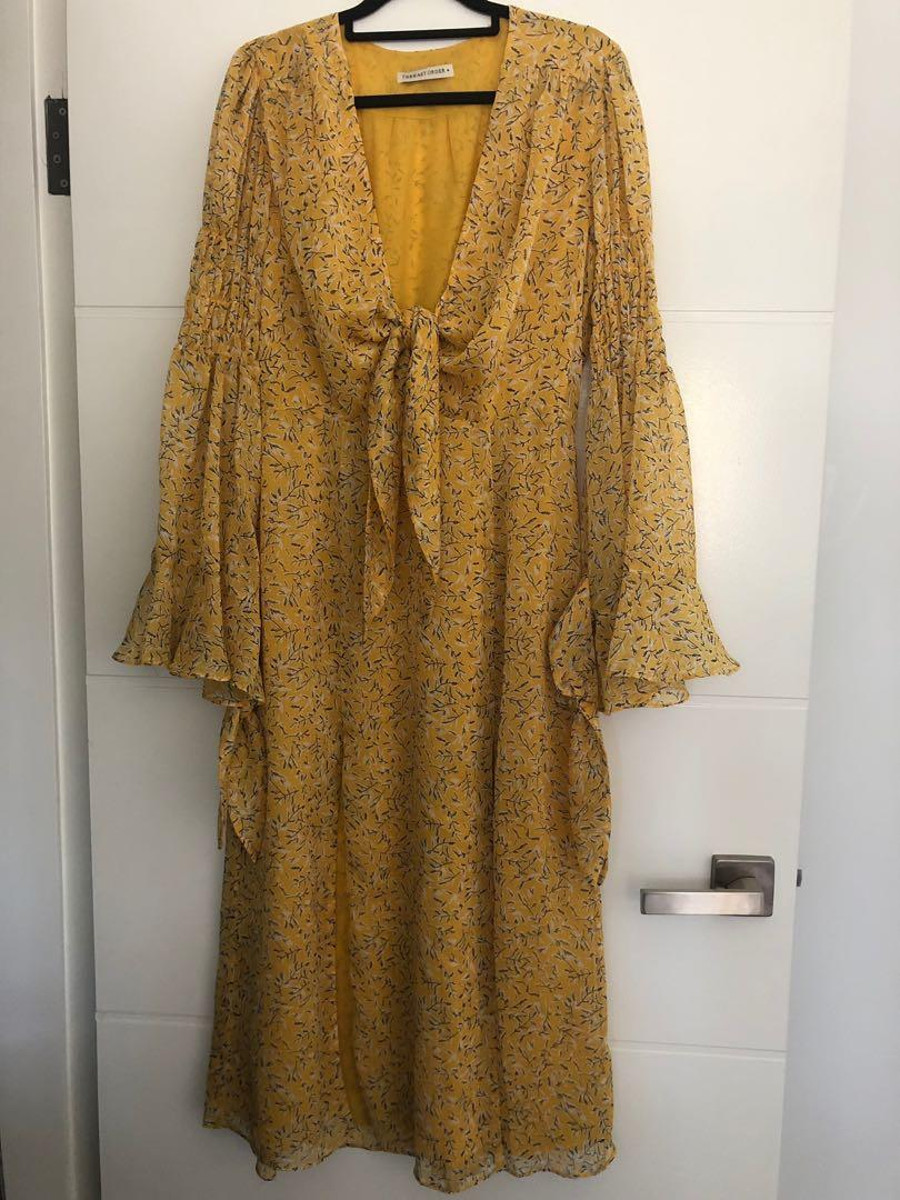 The East Order Womens Ry Midi Dress size M fits size 12